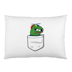 Apu Apustaja Crying Pepe The Frog Pocket Tee Kekistan Pillow Case (two Sides) by snek
