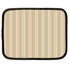 Nice Stripes  Netbook Case (large)