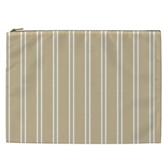 Nice Stripes  Cosmetic Bag (xxl)