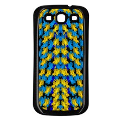 Flowers Coming From Above Ornate Decorative Samsung Galaxy S3 Back Case (black)