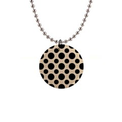 Polka Dots  1  Button Necklace by TimelessFashion