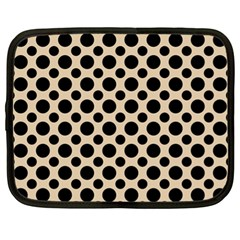 Polka Dots  Netbook Case (xl) by TimelessFashion
