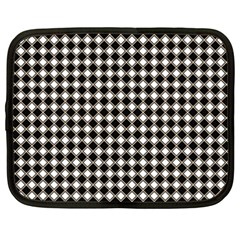 Square Effect  Netbook Case (xxl) by TimelessFashion