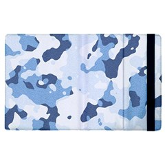 Standard Light Blue Camouflage Army Military Apple Ipad Pro 9 7   Flip Case