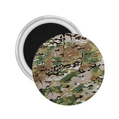 Wood Camouflage Military Army Green Khaki Pattern 2 25  Magnets