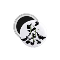 Tea Calligraphy 1 75  Magnets