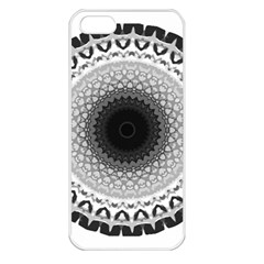 Mandala Calming Coloring Page Apple Iphone 5 Seamless Case (white) by Pakrebo