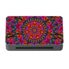 Kaleidoscope Pattern Ornament Memory Card Reader With Cf