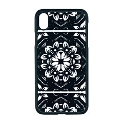 Kaleidoscope Mandala Art Apple Iphone Xr Seamless Case (black)