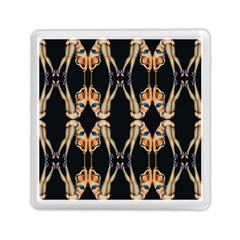 Kaleidoscope Symmetry Pattern Girls Memory Card Reader (square)