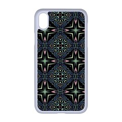 Kaleidoscope Pattern Seamless Apple Iphone Xr Seamless Case (white)