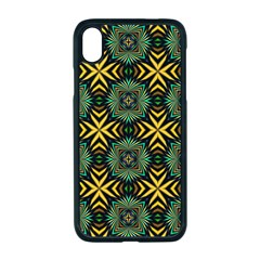 Kaleidoscope Pattern Seamless Apple Iphone Xr Seamless Case (black)