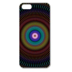 Artskop Kaleidoscope Pattern Apple Seamless Iphone 5 Case (clear) by Pakrebo