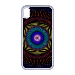 Artskop Kaleidoscope Pattern Apple Iphone Xr Seamless Case (white)