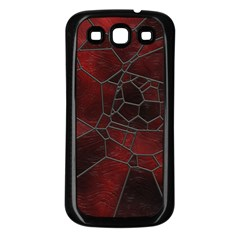 Mosaic Glass Glass Mosaic Colorful Samsung Galaxy S3 Back Case (black)