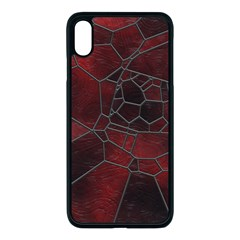 Mosaic Glass Glass Mosaic Colorful Apple Iphone Xs Max Seamless Case (black)