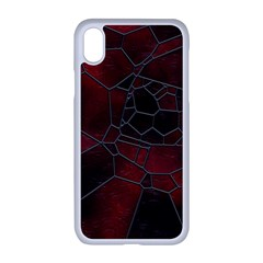 Mosaic Glass Glass Mosaic Colorful Apple Iphone Xr Seamless Case (white)
