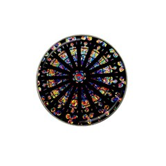 Church Stained Glass Windows Colors Hat Clip Ball Marker