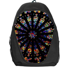 Church Stained Glass Windows Colors Backpack Bag