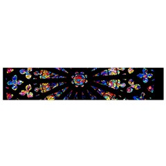 Church Stained Glass Windows Colors Small Flano Scarf