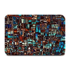 Stained Glass Mosaic Abstract Plate Mats