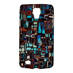 Stained Glass Mosaic Abstract Samsung Galaxy S4 Active (i9295) Hardshell Case