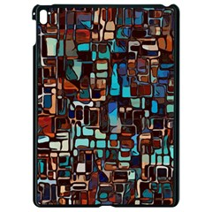 Stained Glass Mosaic Abstract Apple Ipad Pro 9 7   Black Seamless Case