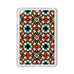 Stained Glass Pattern Texture Face Ipad Mini 2 Enamel Coated Cases