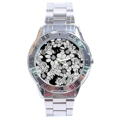 Mandala Calming Coloring Page Stainless Steel Analogue Watch