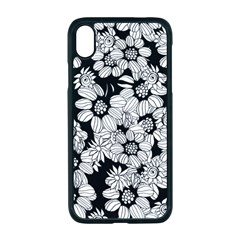 Mandala Calming Coloring Page Apple Iphone Xr Seamless Case (black)
