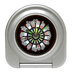 Color Light Glass Travel Alarm Clock