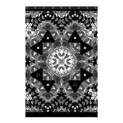 Mandala Calming Coloring Page Shower Curtain 48  X 72  (small)