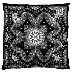 Mandala Calming Coloring Page Large Flano Cushion Case (one Side)