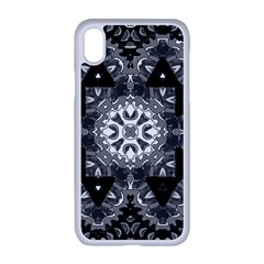 Mandala Calming Coloring Page Apple Iphone Xr Seamless Case (white)