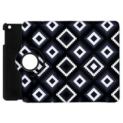 Native American Pattern Apple Ipad Mini Flip 360 Case