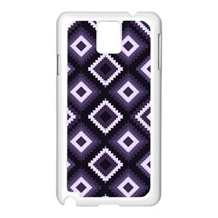 Native American Pattern Samsung Galaxy Note 3 N9005 Case (white) by Valentinaart
