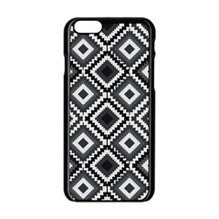 Native American Pattern Apple Iphone 6/6s Black Enamel Case