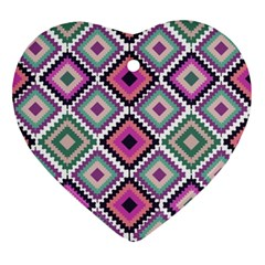 Native American Pattern Ornament (heart)
