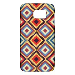 Native American Pattern Samsung Galaxy S6 Hardshell Case
