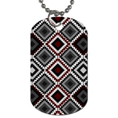 Native American Pattern Dog Tag (two Sides)
