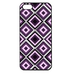 Native American Pattern Apple Iphone 5 Seamless Case (black)