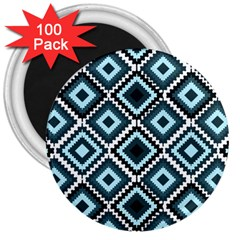 Native American Pattern 3  Magnets (100 Pack) by Valentinaart