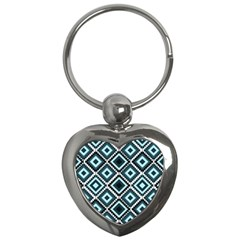 Native American Pattern Key Chains (heart)  by Valentinaart