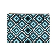 Native American Pattern Cosmetic Bag (large)