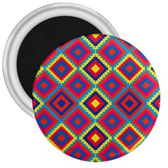 Native American Pattern 3  Magnets
