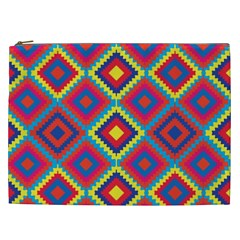 Native American Pattern Cosmetic Bag (xxl)