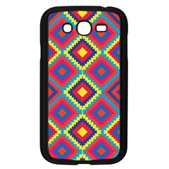 Native American Pattern Samsung Galaxy Grand Duos I9082 Case (black) by Valentinaart