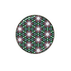 Stained Glass Pattern Church Window Hat Clip Ball Marker