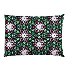 Stained Glass Pattern Church Window Pillow Case