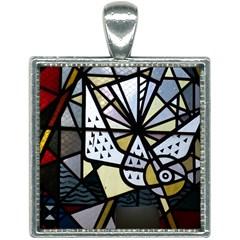 Hildesheim Germany Lower Saxony Square Necklace by Pakrebo